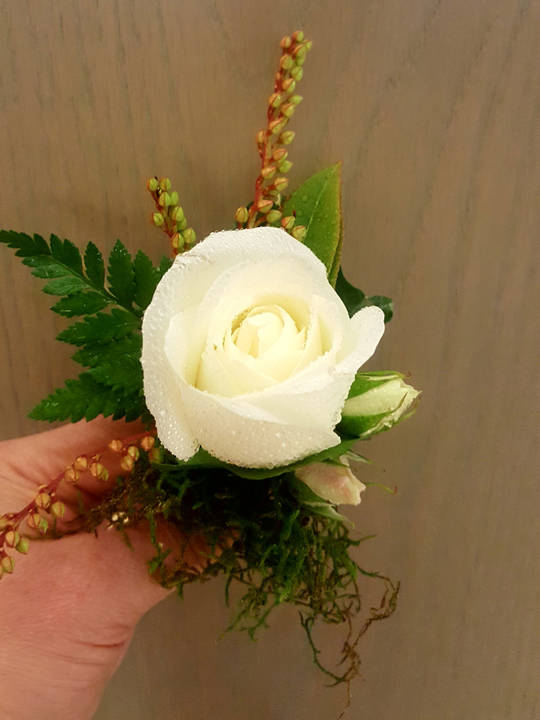 Rose Buttonhole